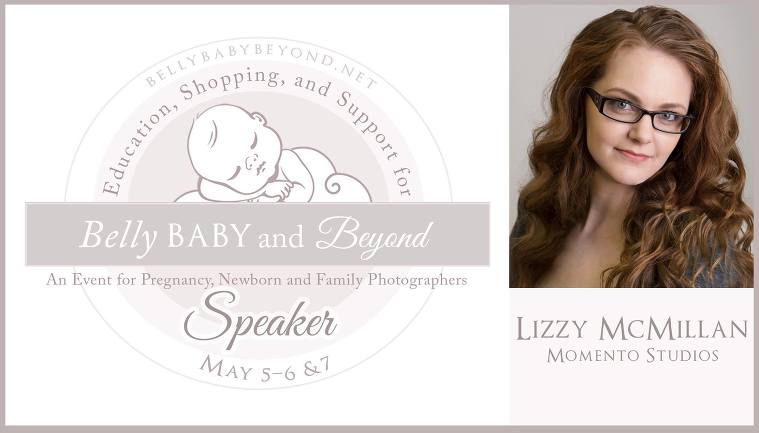 Belly Baby Beyond Conference Newborn Photography conference headshot